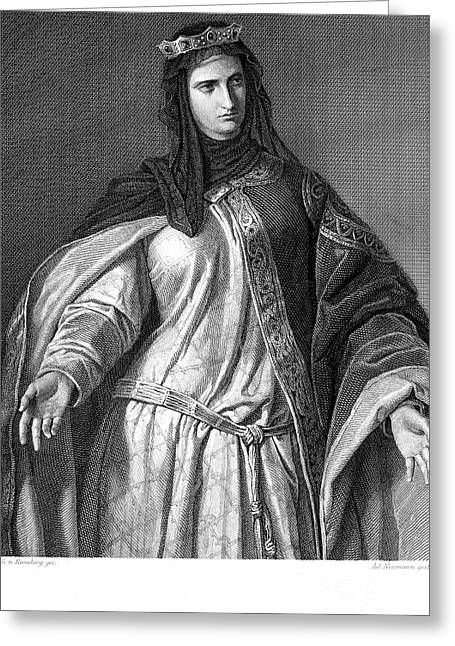 Isabella I (1451-1504) Greeting Card by Granger