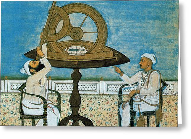 Islamic Astronomers Greeting Card by Science Source