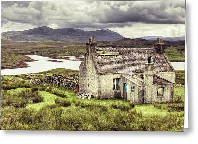 Isle Of Lewis Greeting Card by Ray Devlin