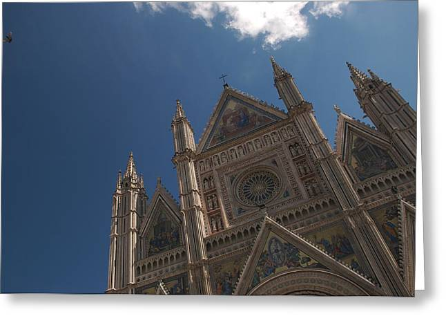 Italys Most Ornate Duomo Is In Orvieto Greeting Card