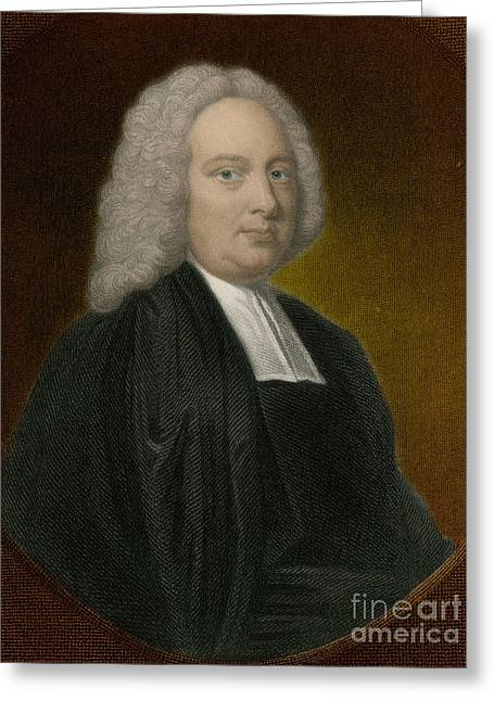 James Bradley, English Astronomer Greeting Card by Science Source
