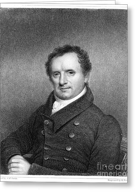 James Fenimore Cooper Greeting Card by Granger