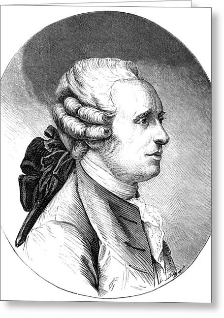 Jean D'alembert, French Mathematician Greeting Card by