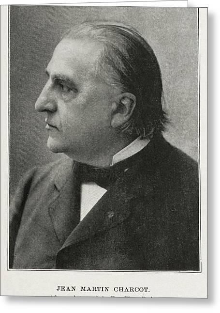 Jean-martin Charcot, French Neurologist Greeting Card