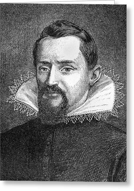 Johannes Kepler, German Astronomer Greeting Card by