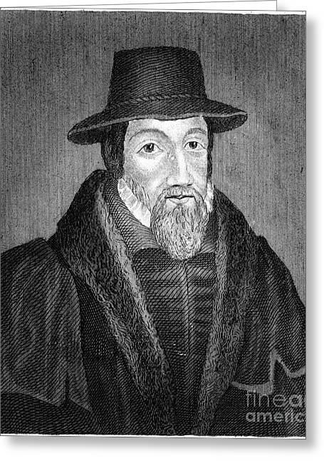 John Foxe (1516-1587) Greeting Card by Granger
