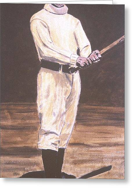 John Mcgraw Greeting Card by Ralph LeCompte