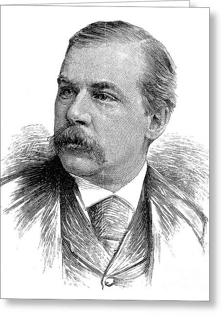John Pierpont Morgan Greeting Card by Granger