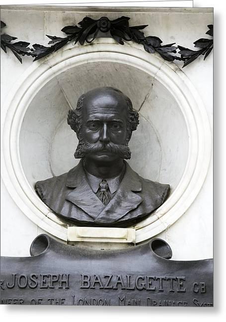 Joseph Bazalgette, British Civil Engineer Greeting Card
