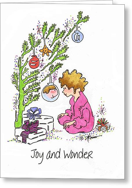 Joy And Wonder Greeting Card