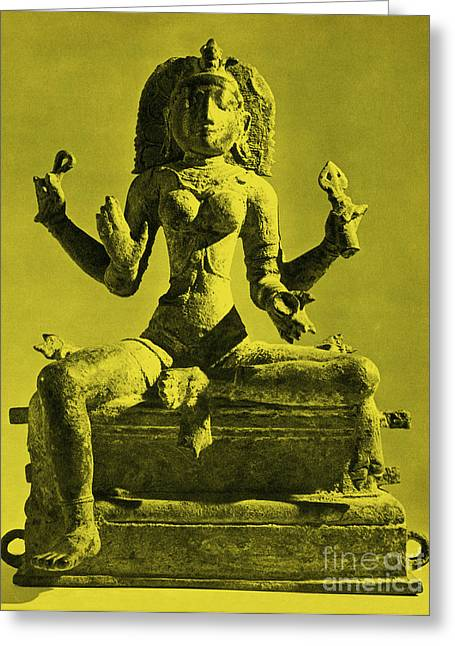 Kali Greeting Card by Photo Researchers