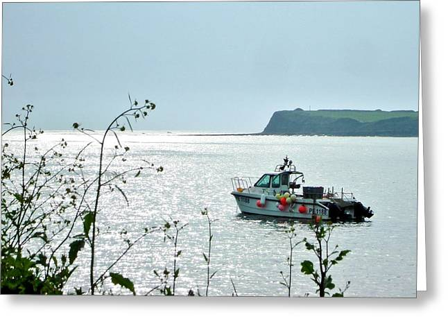 Greeting Card featuring the photograph Kimmeridge by Katy Mei
