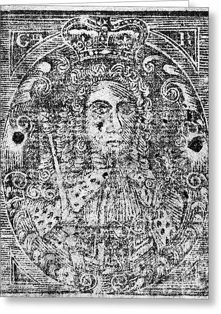King George IIi Of England Greeting Card