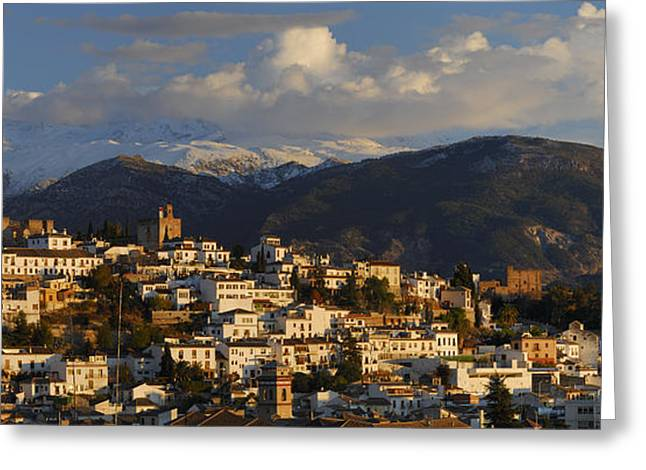 La Alhambra Granada Spain Greeting Card