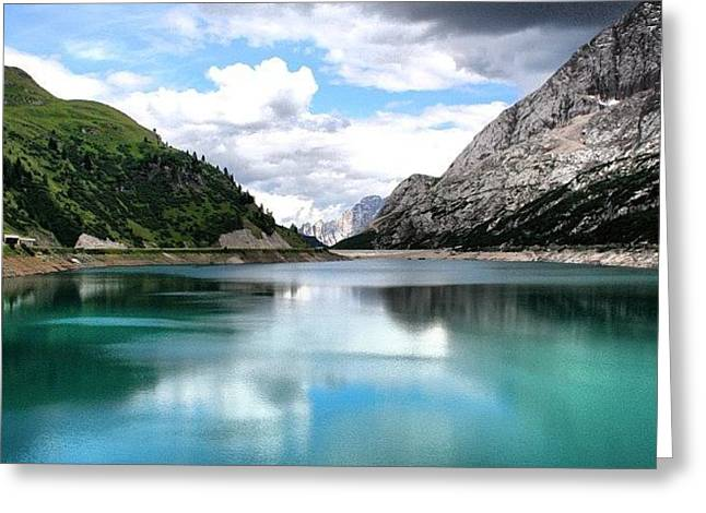 Lago Fedaia Greeting Card