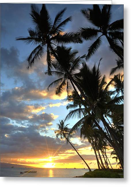 Lahaina Greeting Card
