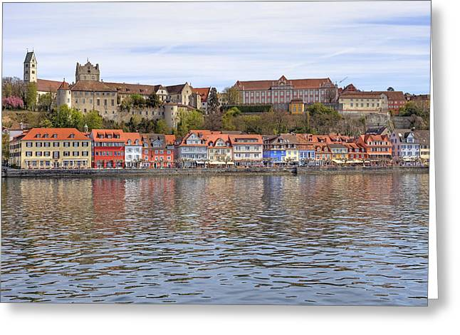 Lake Constance Meersburg Greeting Card by Joana Kruse