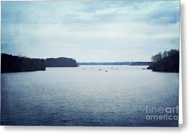Lake Norman North Carolina Greeting Card by Kim Fearheiley
