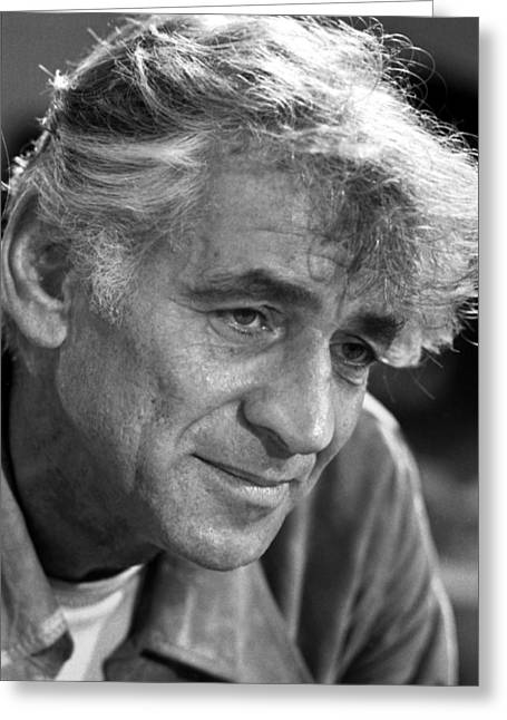Leonard Bernstein Greeting Card by Granger