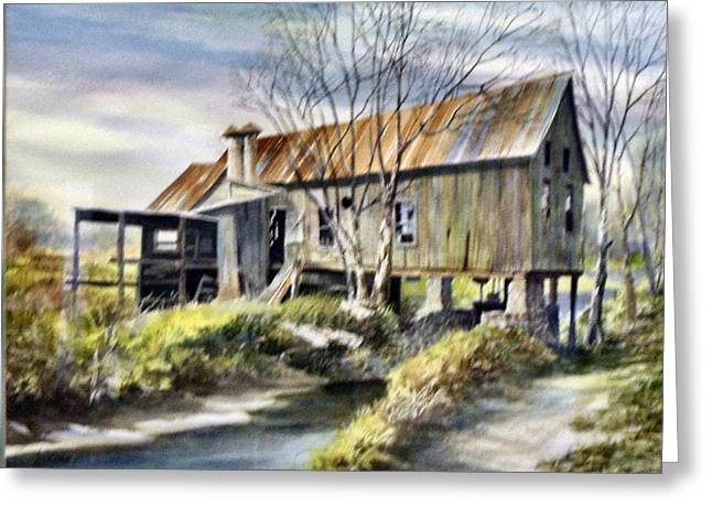 Levy Deas Grist Mill  Sold Greeting Card