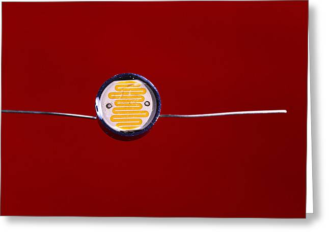Light-dependent Resistor Greeting Card by Andrew Lambert Photography