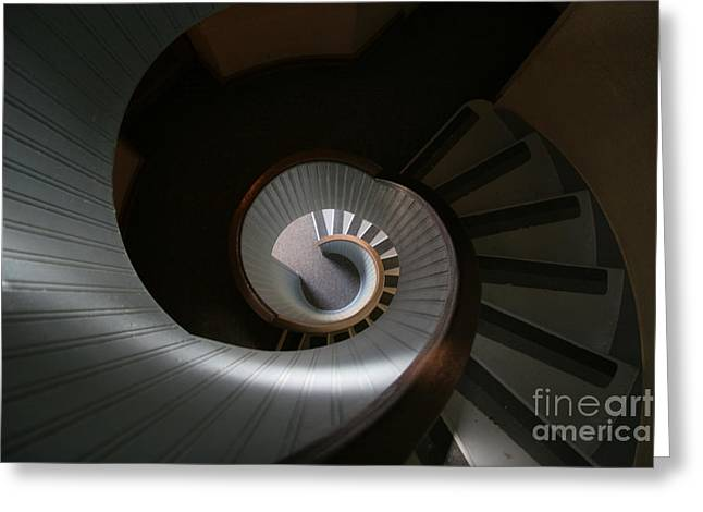 Lighthouse Stairs Greeting Card