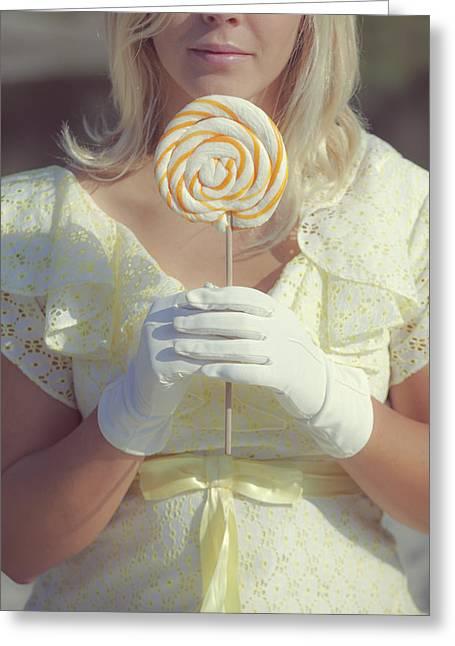 Lollipop Greeting Card by Joana Kruse