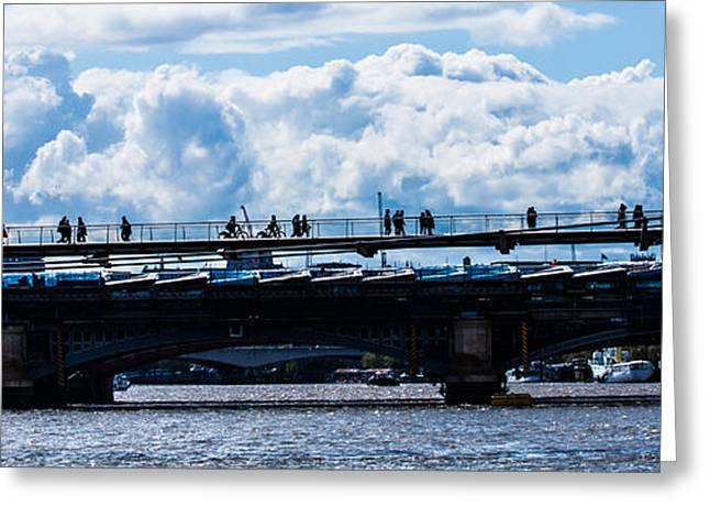 London Skyline Greeting Card by Dawn OConnor