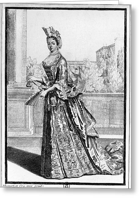 Louise De La Valliere Greeting Card by Granger