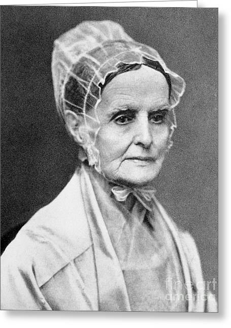 Lucretia Coffin Mott Greeting Card by Granger