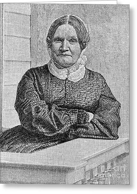 Lydia Maria Child (1802-1880) Greeting Card by Granger