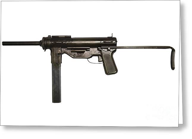 M3 Submachine Gun, 45 Caliber Greeting Card