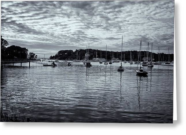 Greeting Card featuring the photograph Manchester Cove by Tom Singleton