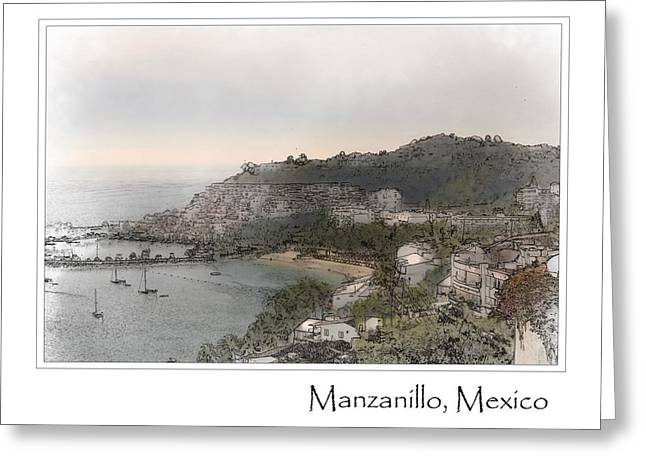Manzanillo Mexico Greeting Card