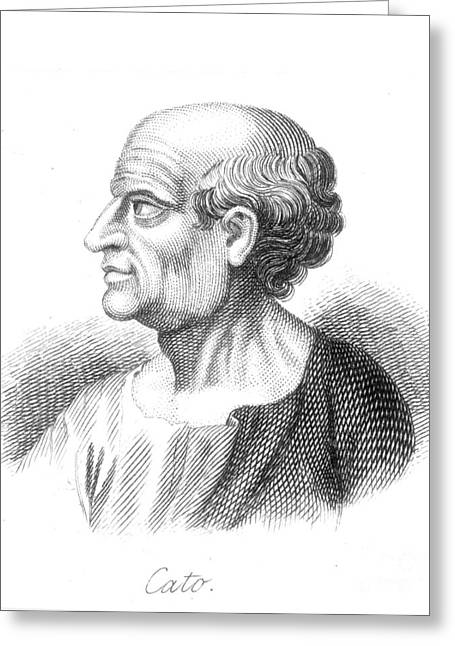 Marcus Porcius Cato Greeting Card by Granger