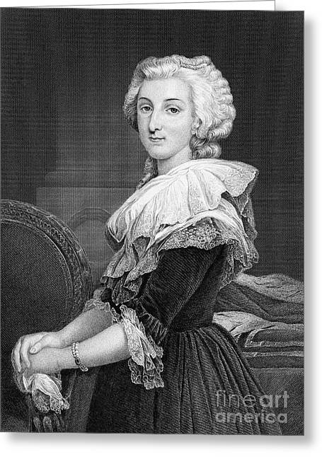 Marie Antoinette (1755-1793) Greeting Card by Granger