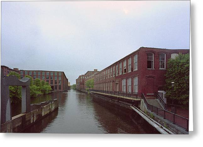 Market Mills Lowell Greeting Card by Jan W Faul