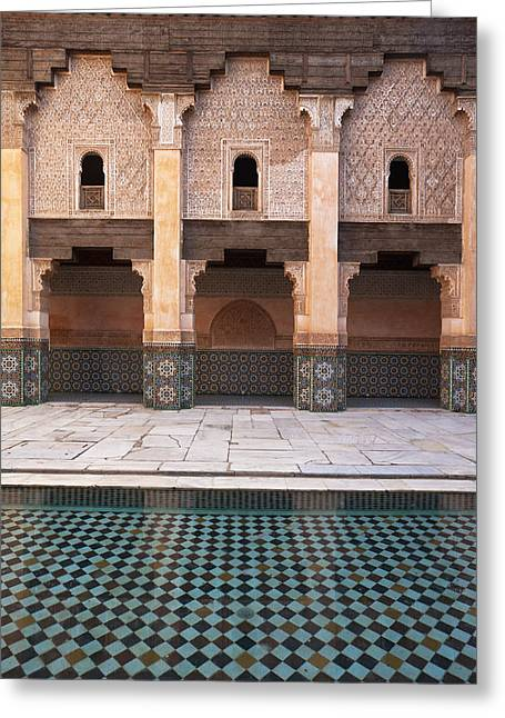 Marrakesh, Morocco Greeting Card by Axiom Photographic