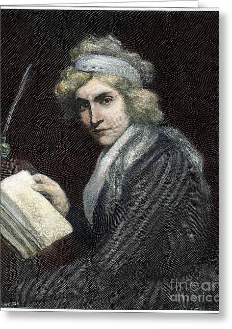 Mary W. Godwin (1759-1797) Greeting Card