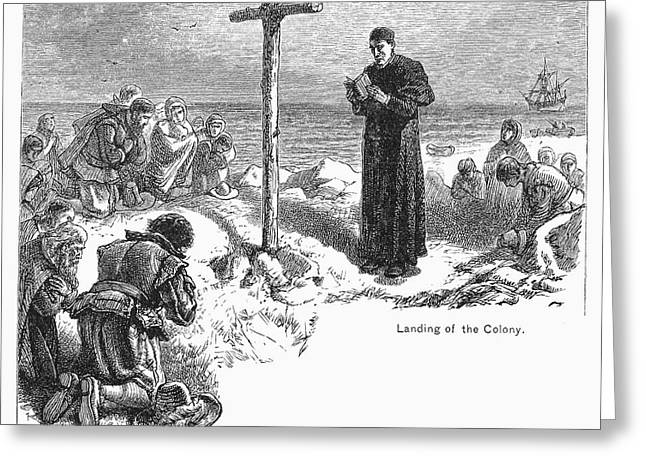 Maryland: First Mass, 1634 Greeting Card