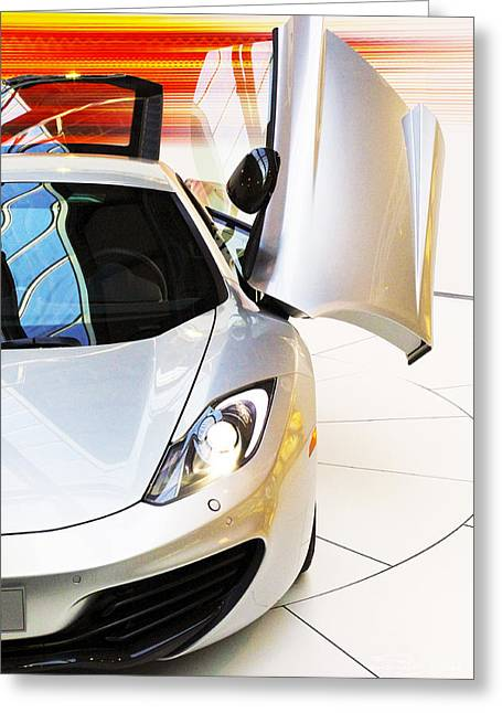 Mclaren Mp4-12c Greeting Card