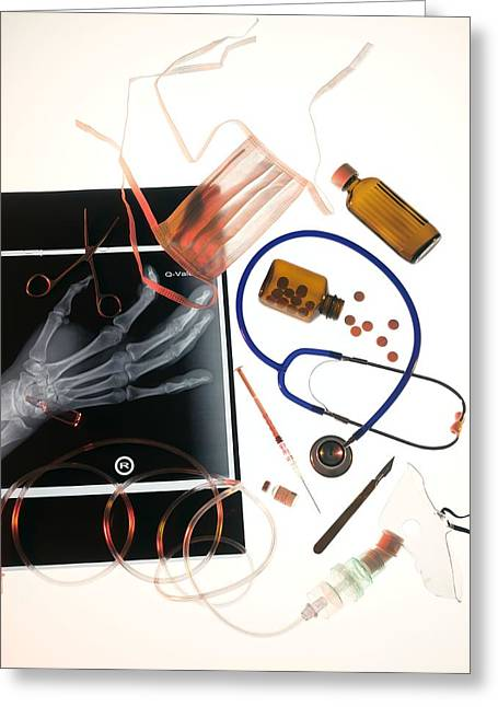 Medical Treatment, Conceptual Image Greeting Card by Tek Image