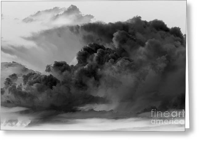 Mega Storm Cloud Greeting Card