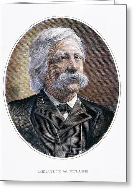 Melville Fuller (1833-1910) Greeting Card by Granger