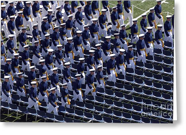 Members Of The U.s. Air Force Academy Greeting Card