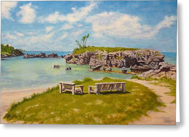 Memories Tobacco Bay Bermuda Greeting Card