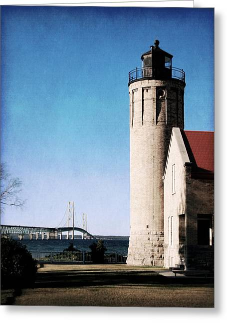 Mi Mighty Mac Greeting Card by Christy Woods