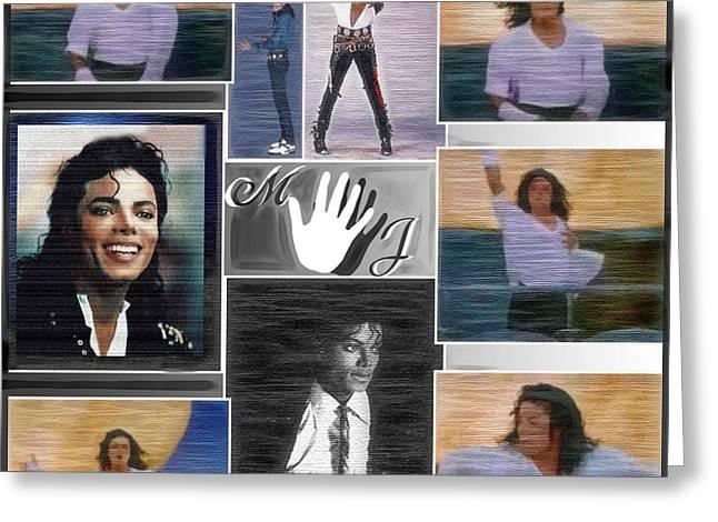 Michael Jackson Greeting Card