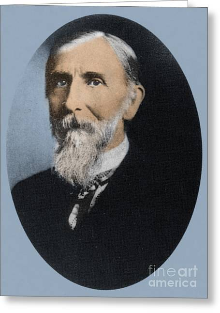 Milton Bradley, American Inventor Greeting Card by Science Source