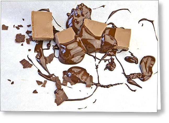 Molten Chocolate Greeting Card by Joana Kruse